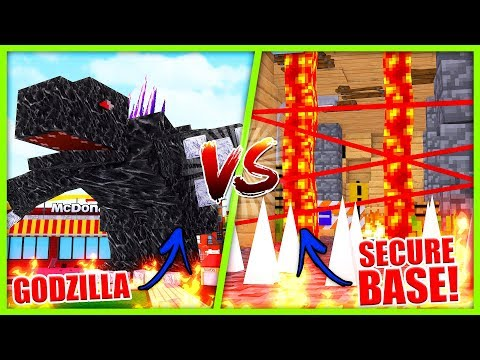 MOBZILLA VS BASE - BIGGEST MOB BASE CHALLENGE!