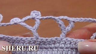 Комплексный столбик крючком. Вязание для начинающих Урок 28