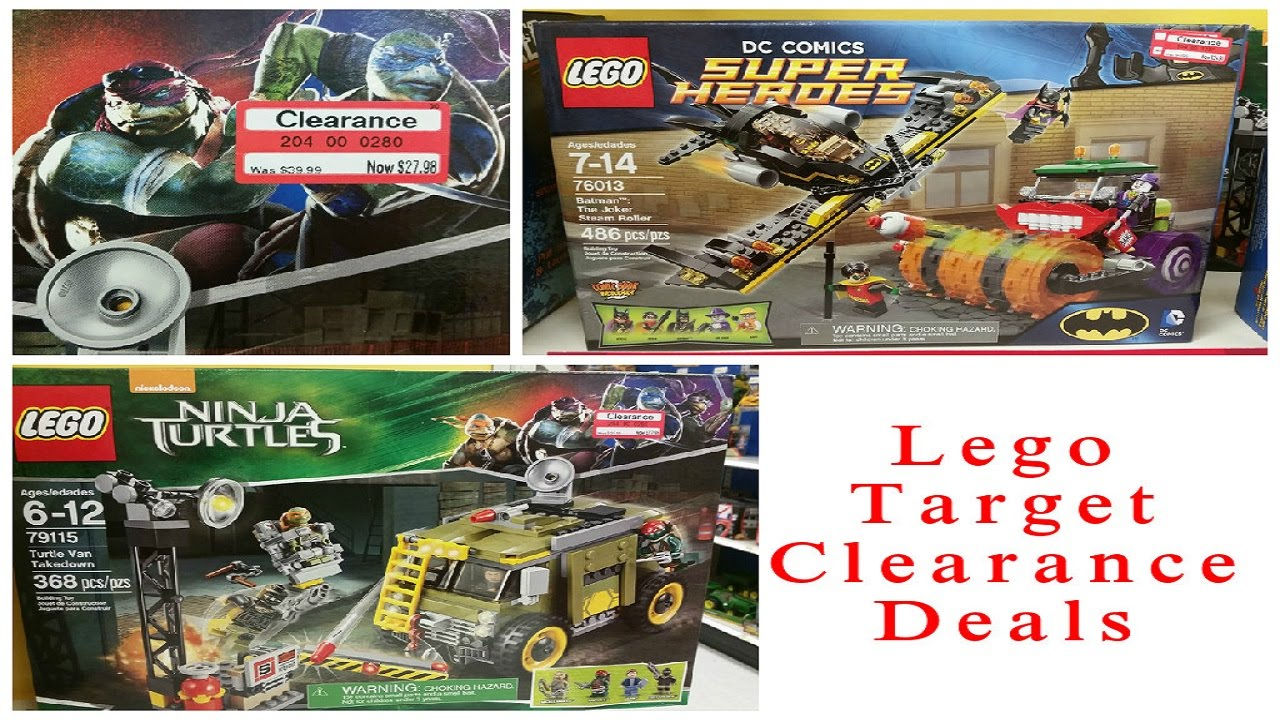 Lego clearance finds target 2 28 2015 youtube for Lago store outlet