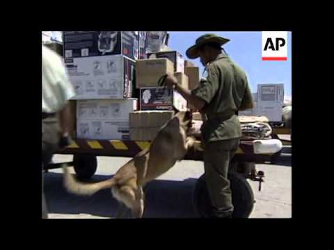 COLOMBIA: GOVERNMENT TARGET CARIBBEAN ISLANDS DRUG CARTEL