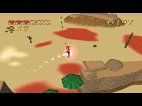 Pandemonium PC gameplay. (HQ). Level 7 - Burning Desert.