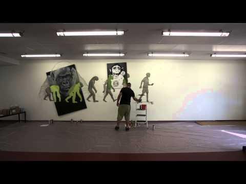 Evolve skateboards France showroom - Nilko White