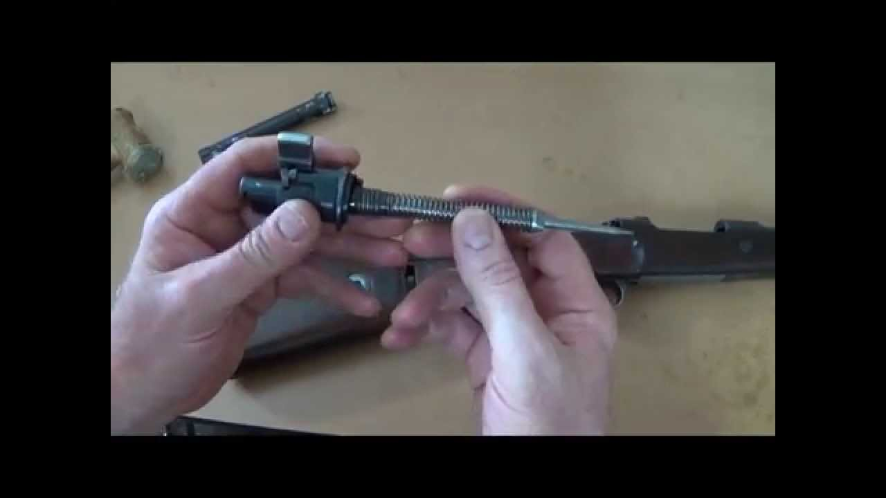 Mauser Bolt Disassembly and Assembly - YouTube