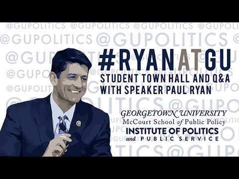 Speaker Paul Ryan Hosts Millennial Town Hall