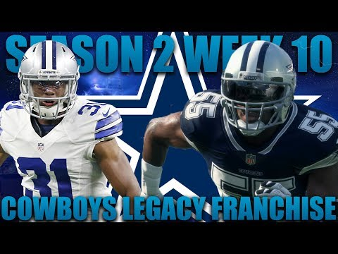Trying to Bounce Back and Save our Season! Madden 18 Cowboys Franchise | Legacy Season 2 Week 10