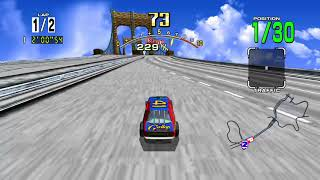 DAYTONA USA Arcade   Expert Course Xbox One Gameplay