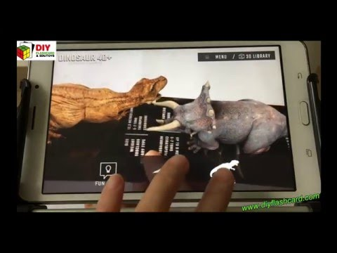 Dinosaur 4D Flashcards