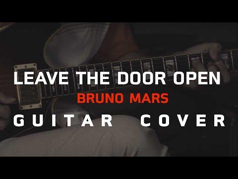 Leave the door open - Bruno Mars [Guitar Cover]โน้ตเพลง-คอร์ด-แทป | EasyLearnMusic Application.