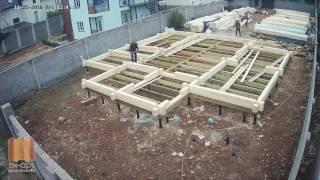 Как построить дом за 4 минуты. Крым, компания Ти-Арт.