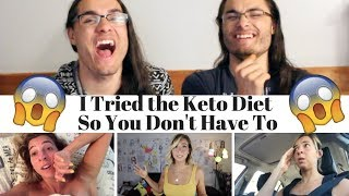 Gabbie Hanna - I Tried the Keto Diet So You Don't Have To I Our Reaction // TWIN WORLD