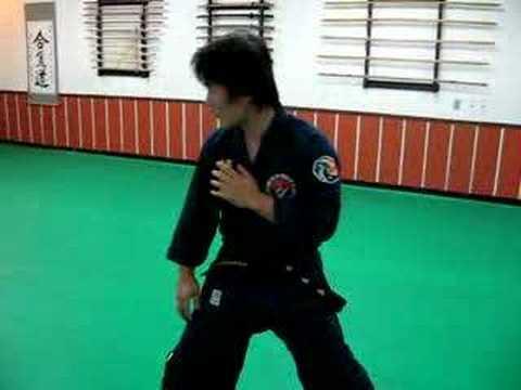 CKK Hapkido practice at ìž ì‹¤ 도장