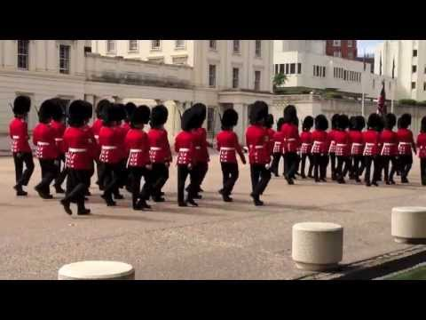 Changing the Guard from Wellington Barracks - 10 Aug 2013