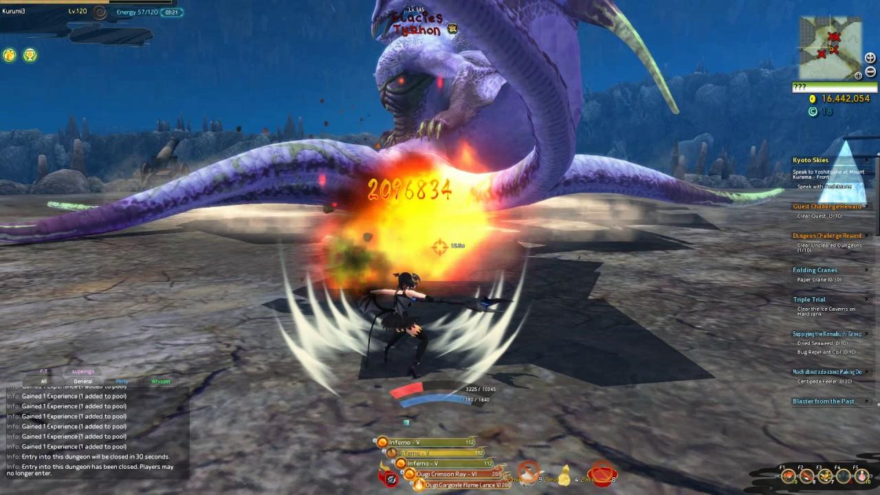 Onigiri Typhon Hell Odin Wand Test Nyankoropon Spin