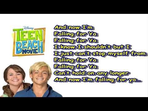 Teen Beach Movie - Falling For Ya - Karaoke (Instrumental Version) (Lela,Grace Phipps)