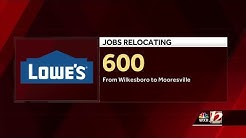 Lowe's announces layoffs, relocation for workers