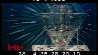 TV1: Vlaanderen Vakantieland (einde) + Lotto, PMU, avondoverzicht (15 april 1995)