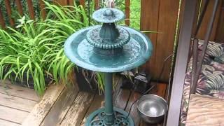Don't Buy This 3-Tier Bird Bath / Water Fountain by Gardman