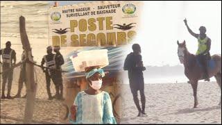 Plus de baignade à la plage BCEAO, Une patrouille veille sur l'interdiction des rassemblements