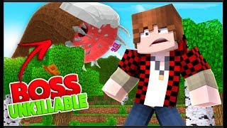PROS CAN NOT WIN vs THIS BOSS 🐲 ... (Impossible and Unkillable Minecraft Challenge!)