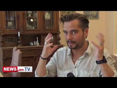 Swedish Singer Bosson Is In Yerevan. His Interview To NEWS.am STYLE