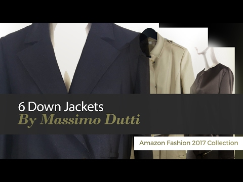 6 Down Jackets By Massimo Dutti Amazon Fashion 2017 Collection