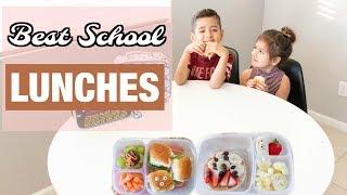 School Lunch Ideas for Kids!