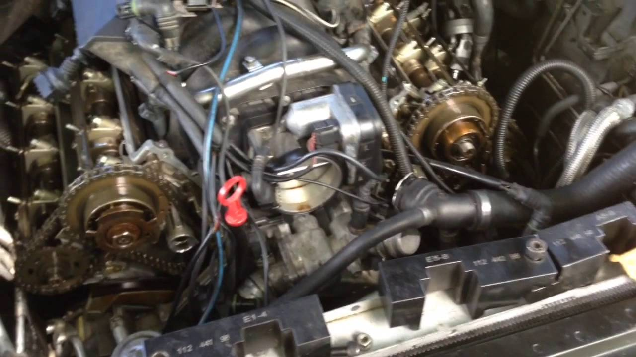 bmw m62tu complete engine timing procedure after timing chain guide failure 540i 740i x5 e53 [ 1280 x 720 Pixel ]