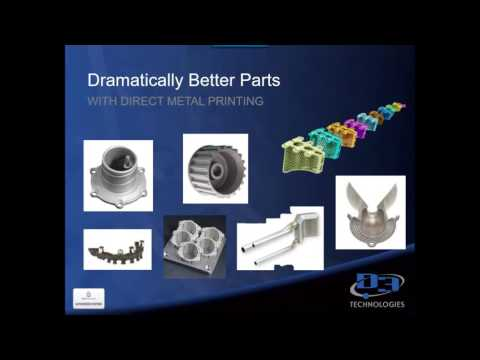 D3 TECHNOLOGIES - Direct Metal 3D Printing with 3D Systems Webcast