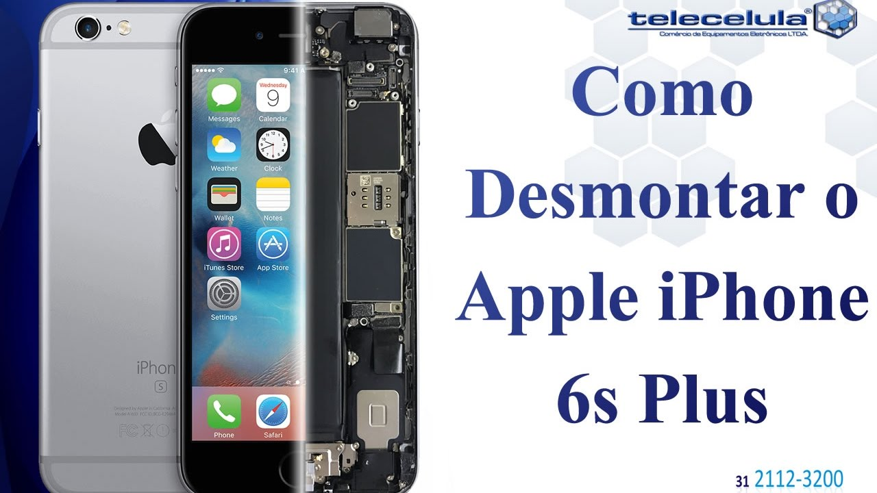 como desmontar o apple iphone 6s plus disassembly iphone. Black Bedroom Furniture Sets. Home Design Ideas