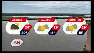 Pronóstico extendido del tiempo Informe de @DiegoOlobardi