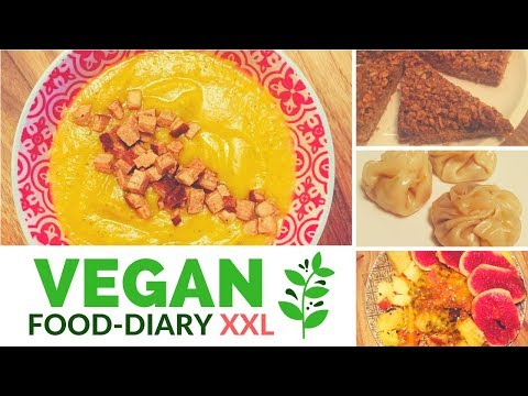 Vegan Food-Diary XXL | Pflanzliche Ernährung | What I eat | Vegan kochen