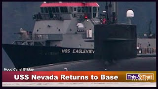 USS Nevada Returns to Base