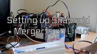How to setup a Linux Fileserver with Snapraid and Mergerfs Re-Export