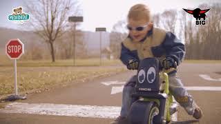 Odrážedlo motorka Girl Bike BIG od 18 měsíců růžov