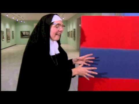 Sister Wendy Stripes Double Exposure CTV