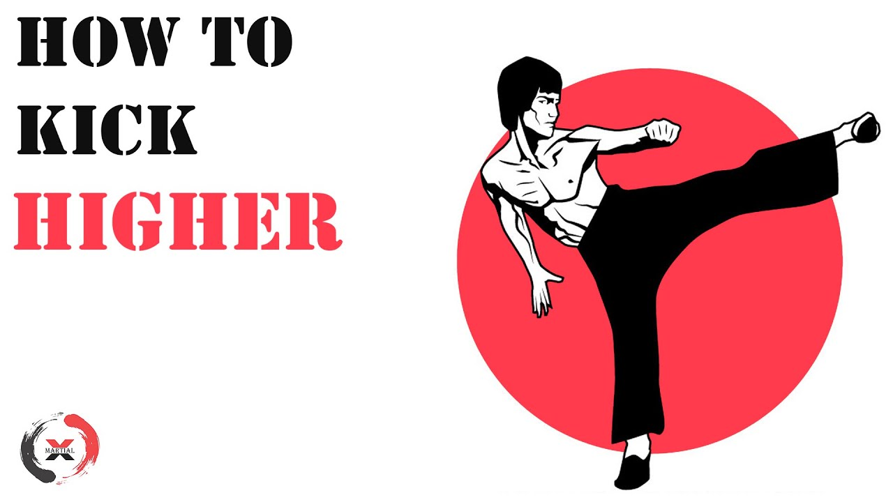 How to KICK HIGHER  - Drills for High Kick Flexibility