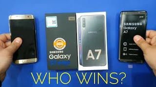 Download Video Samsung Galaxy A7 2018 vs Samsung Galaxy S7 Edge MP3 3GP MP4