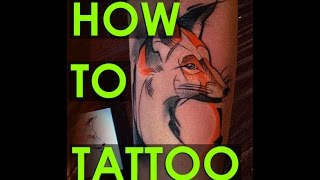 HOW TO TATTOO, tattooing , time lapse, Алексей Михайлов, как делают тату, 2015, PART 1