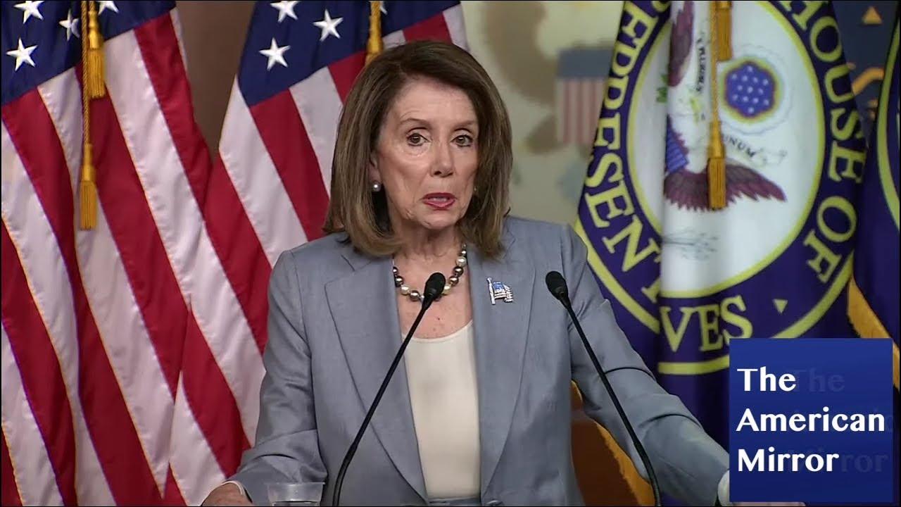 5/11/2019 Nancy Pelosi suffers awkward 5-second brain freeze, garbles words