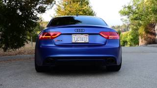 Audi RS5 Akrapovic w/Non Res Downpipes