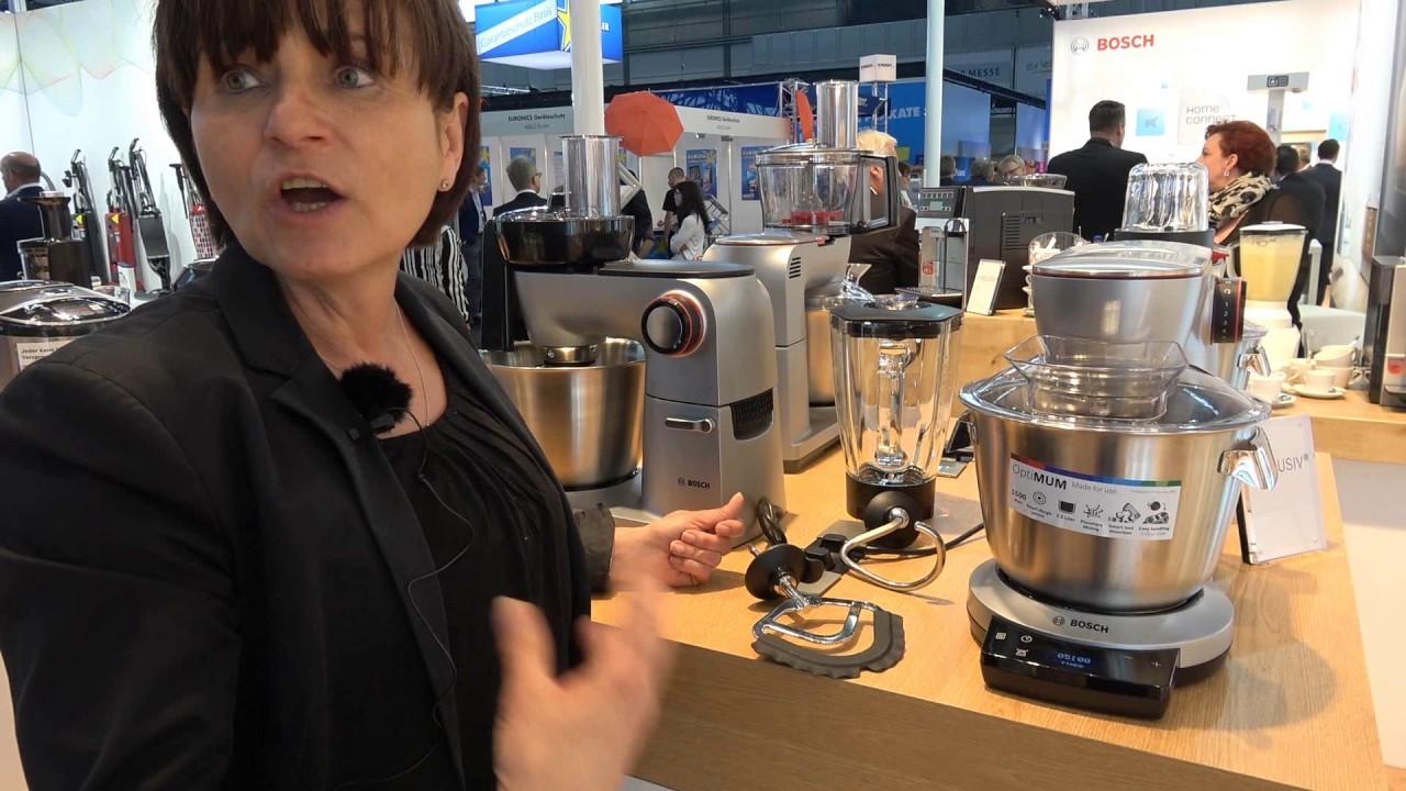 Bosch Optimum Kuchenmaschine Produktvorstellung Youtube