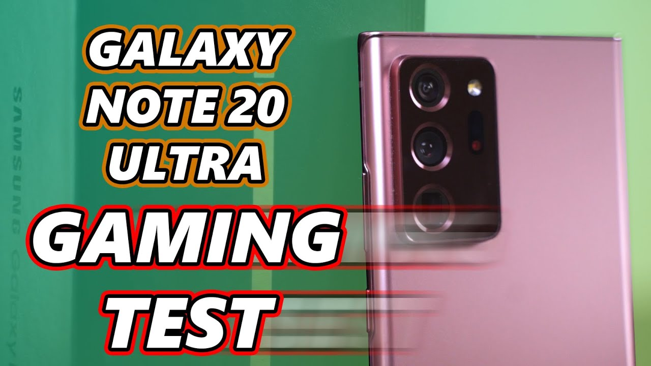 Gaming on the Galaxy Note20 Ultra Exynos! Can it perform?