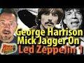 Engineer:Producer Glyn Johns Says Mick Jagger & George Harrison Disliked  Zeppelin I
