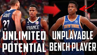 The Knicks Have Officially Accepted That Frank Ntilikina Is A BUST...