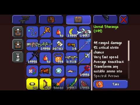 terraria how to make the blade of grass ios