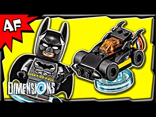 Lego Dimensions BATMAN Batmobile 3-in-1 Build Instructions & Review 71174
