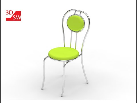 How to make a chair in SolidWorks