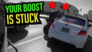 Telling Honda Owner His Boost Is Stuck