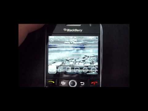 BlackBerry Curve 8900 Display Issue
