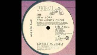 New York Community Choir - Express Yourself 1979.mp4